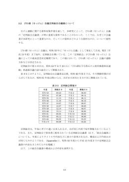 第3章 調査方法と結果の概要②琵琶湖会議定例総会会議書について