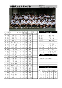 沖縄県立糸満高等学校
