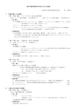 県立愛知商業高等学校(商業科)