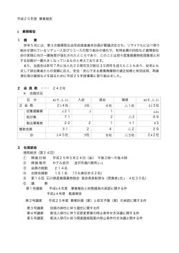 事業報告 246KB