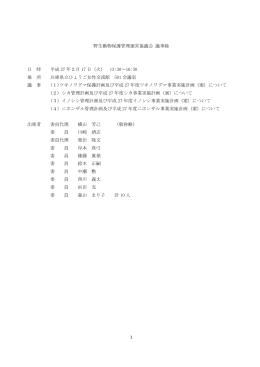 議事録(PDF:200KB)