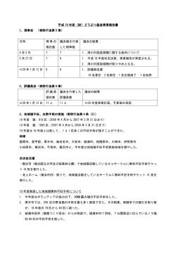 19年度事業報告 - Seesaa Wiki(ウィキ)