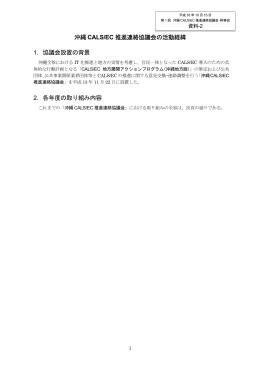 平成 16 年度 沖縄 CALS/EC 推進連絡協議会(幹事会)