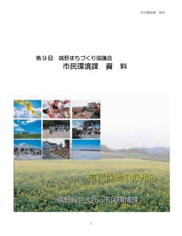市民環境課 資 料