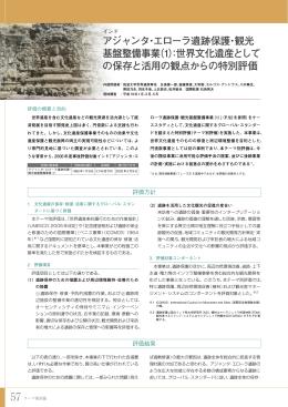 アジャンタ・エローラ遺跡保護・観光 基盤整備事業(1):世界文化遺産