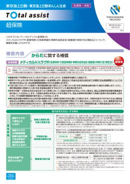 メディカルKitラヴR(医療保険(引受基準緩和・無解約