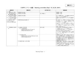 CISPRシドニー会議SC/S 審議結果(案)