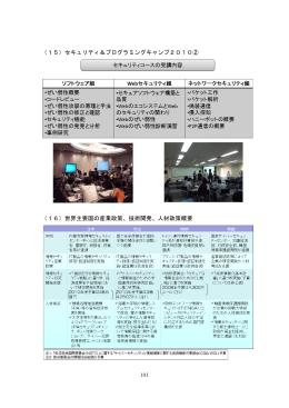 (15)セキュリティ&プログラミングキャンプ2010② (16