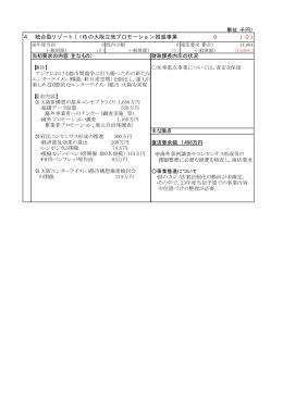 4 統合型リゾート(IR)の大阪立地プロモーション推進事業