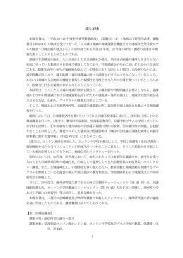 本報告書 2015年3月(PDF)