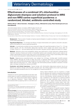Effectiveness of a combined (4% chlorhexidine digluconate