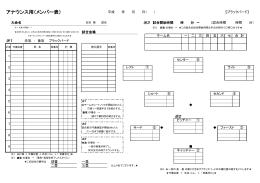 連盟 放送マニュアル - 栃木県高校野球連盟
